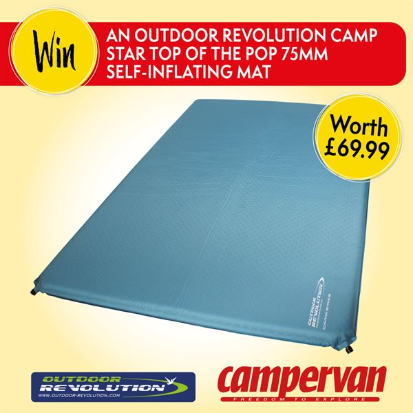 Share your campervan stories to win a prize from Outdoor Revolution