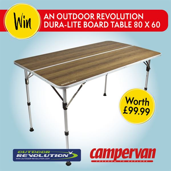 Win a prize from Outdoor Revolution!