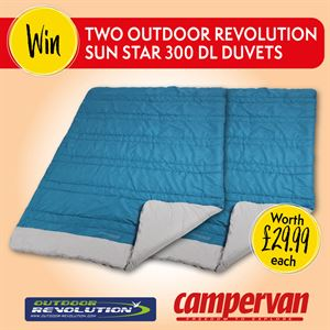 Share your campervan stories to win a prize from Outdoor Revolution!