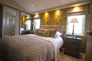 The master bedroom in the Oakgrove Waverton home