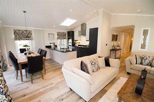 The lounge of the Oakgrove Waverton home