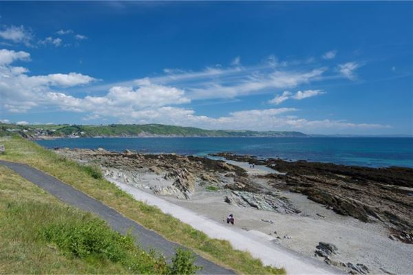 Oaklands is a mile and a half from this beautiful stretich of coast, close to Looe
