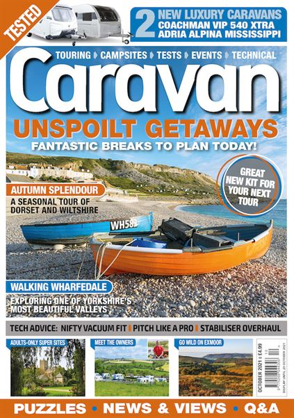 Download the October issue of Caravan today!