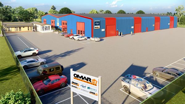 The Omar Group's new facility in Hampshire