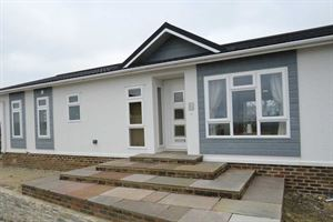 One of the new residential park homes on sale
