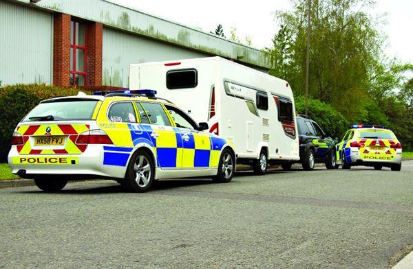 Caravan tracker systems