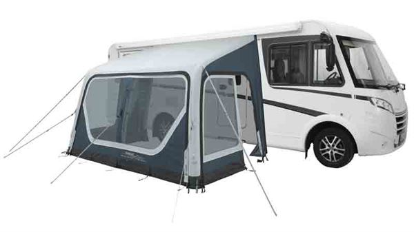 This awning from Outwell has an inflatable system