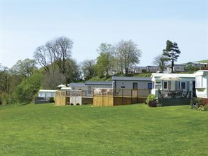 Holiday homes at Smytham Holiday Park in Devon