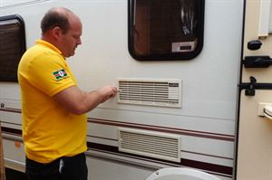 caravan refrigeration repair