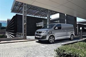 The new Peugeot e-Expert