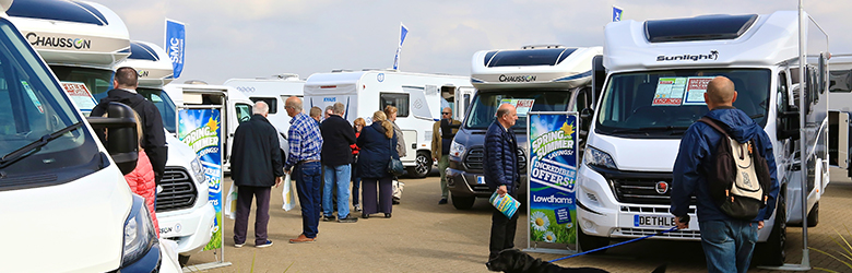 Image result for motorhome & campervan peterborough showground