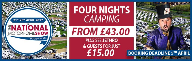Four nights camping for just £43