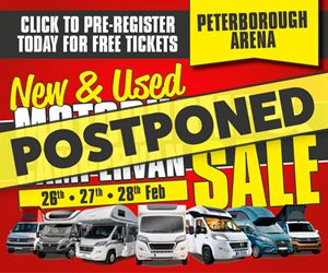 February's New & Used Motorhome & Campervan Sale postponed until 2022