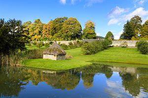 Blair Castle's gardens