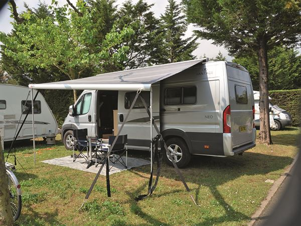 A guide to awnings for motorhomes and campervans - Practical Advice