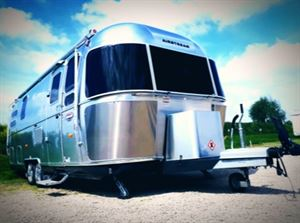 Airstream on site