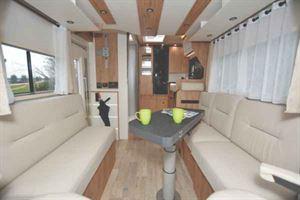 Pilote Front Lounge Motorhome