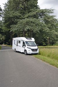The Pilote Pacific P696D motorhome