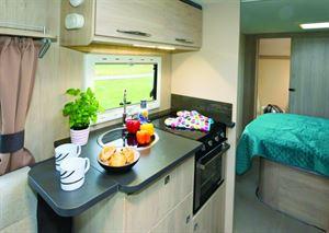 Good kitchen space