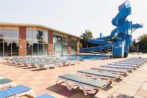 The swimming pool at Highfield Grange