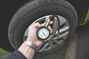Motorhome checks - tyre pressure