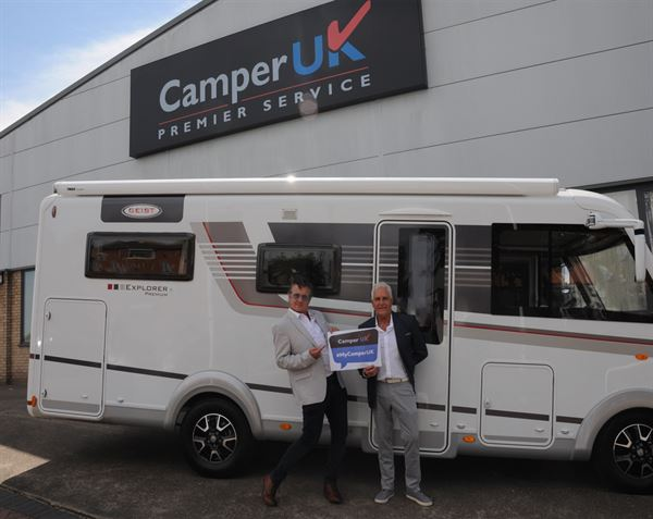 Lincoln-based motorhome and campervan dealer, Camper UK, has teamed up with actor Shane Richie to promote the UK's best staycation spots