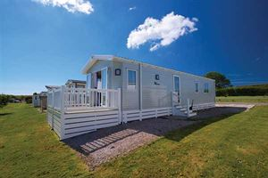 Prices of new holiday homes start at around £40,000 at Oaklands Park near Looe in Cornwall