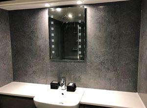 Upgrading bathrooms