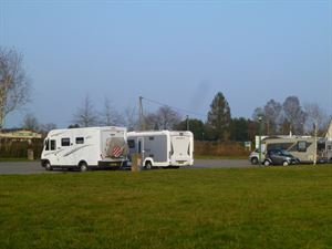 The aire at Forges-les-Eaux is spacious with good services