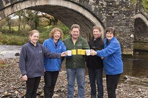 The Harford Bridge team toast to their success
