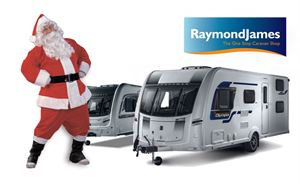 Raymond James Caravans at Christmas