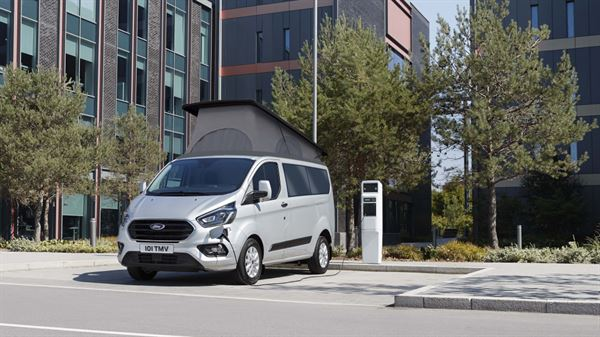Wellhouse Leisure's range of Ford-based campervans now includes its first plug-in hybrid model using the new Transit Custom PHEV.
