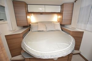 The bed in the Rapido 8086dF Ultimate Line
