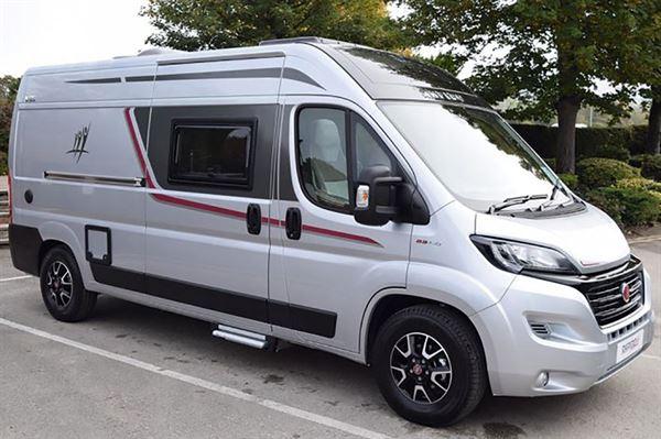 The Rapido V55 campervan