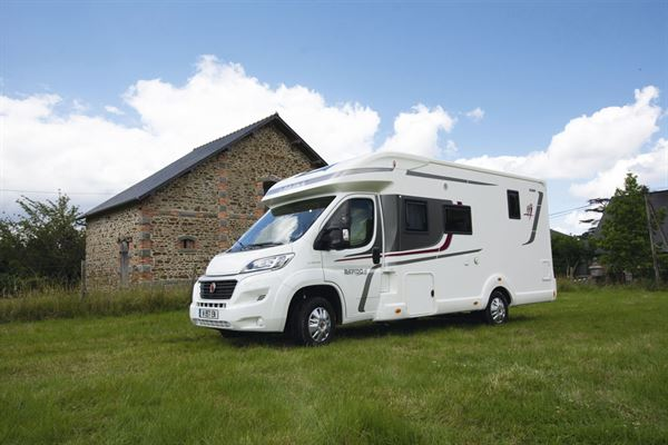 The Rapido 656F motorhome