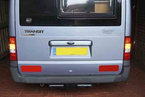 Replacing rear lights on a Ford Transit - picture courtesy of Tony Brown