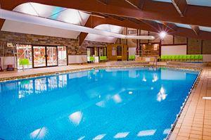 The refurbished pool