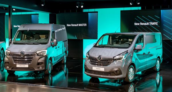 The new Renault Trafic and Master