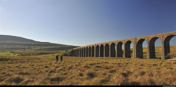 Ribblehead Viaduct - pic credit VisitBritain/Matt Cant