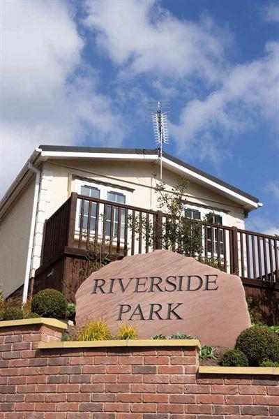 Riverside Park entrance