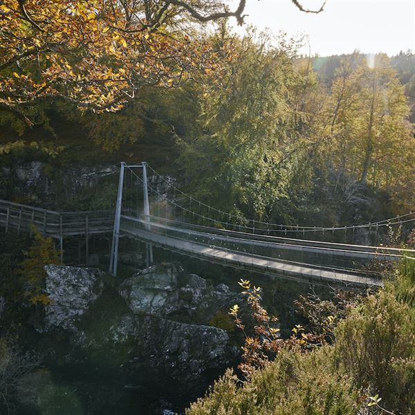 Rogie Falls is one of the locations taking part in Forestry Scotland's Stay the Night Scheme (picture Forestry Scotland)