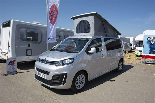 Romahome's new pop-top campervan
