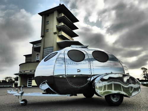Did This Teardrop Caravan Come From Outer Space Advice