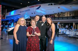 Cofton Holidays team celebrates win at South West Tourism Excellence Awards