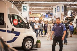 Manufacturers see record demand at recent motorohome show