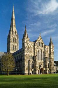 Salisbury Cathedral - picture courtesy of Alamy