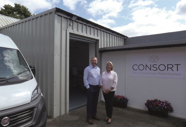 Scot and Jane Naylor of Consort Motorhomes