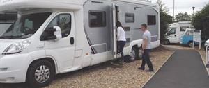 Somerset Motorhome Centre: viewing motorhomes