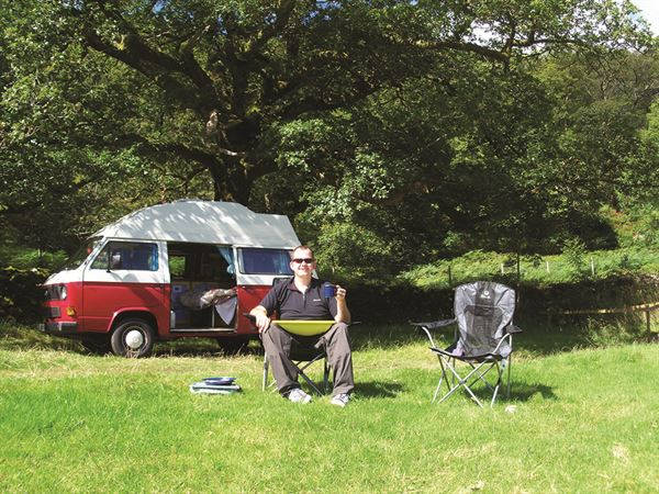 The survey reveals why campervans are so popular in the UK
