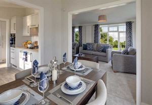Semi open-plan – this is Willerby's Charnwood